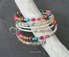 Spiralarmreif von Happy-about- Pearls auf DaWanda.com