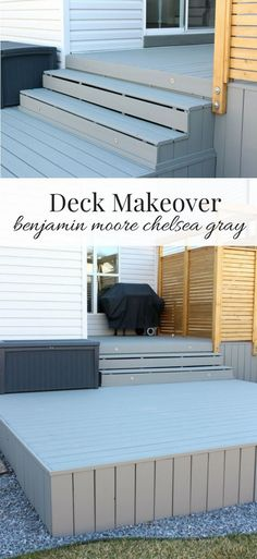 Our deck makeover is