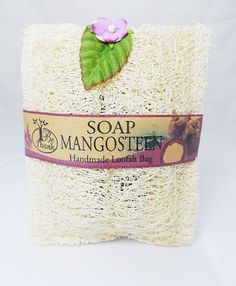 Mangosteen Soap in Luffa Loofah Sponge Bag Natural Bath by Unknown. $9.99. For skin with a healthy and radiant shine, use these loofah sponges to alleviate stress and tension, while stimulating blood circulation. The natural texture of the vegetable fibers will gently exfoliate away roughness by revealing newer skin cells. Wet the loofah with warm water and douse it with the soap product of your choice. Loofahs are best used with body wash, but plain bar soap works t...