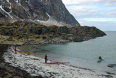 Padling Nesjeøya Foto: Bent Svinnung