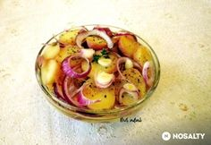 Hagymás-ecetes burgonyasaláta A Food, Food And Drink, Xmas Dinner, Vegetables, Party, Vegetable Recipes, Parties, Veggies