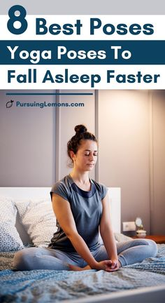 Roll out your yoga mat or practice this bedtime yoga poses on your bed to fall asleep faster! You will get the quality sleep you deserve! Bedtime Yoga, Sleep Yoga, Yoga Poses For Beginners, Workout For Beginners, Fitness Tracker, Learn Yoga, Practice Yoga, Morning Yoga Routine, Fitness Motivation