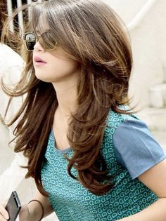 Selena Gomez Long Hairstyles 2016 with Bangs