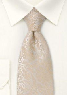 Beige tie   Vanilla and Champagne Inspiration   Ispirazione Vaniglia e Champagne   http://theproposalwedding.blogspot.it/ #wedding #matrimonio #autunno #fall #autumn #vaniglia #vanilla #cream #champagne #neutral #nude #elegant