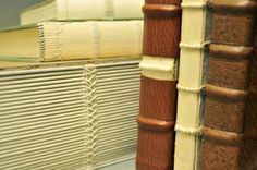 """Jeffrey Altepeter, """"Sewing Structure Models..;"""" Jeffrey wil teach Skin & Bones, a bookbinding workshop at Penland, Aug 23-29, 2015. More info: http://penland.org/classes/summer/summer_session_7.html"""