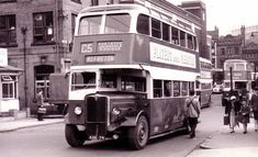 The Nottinghamshire & Derbyshire Tramways Company was formed in 1903 by Act of Parliament. It was not until 1913 that the tramway from Ripley to Nottingham, via Langley Mill, Eastwood and Kimberley,. Nottingham Road, Routemaster, Old Names, Double Deck, Bus Coach, Group Of Companies, Car Covers, Derbyshire, Coaches