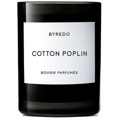 Byredo Cotton Poplin Scented Candle (110 AUD) ❤ liked on Polyvore featuring home, home decor, candles & candleholders, heart candles, white home decor, heart shaped candles, white candles and handmade home decor