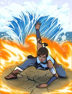 Korra Wushu Pose by dragonaeve.deviantart.com on @deviantART