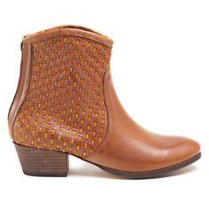 Cowboy Boot Tan Orange