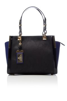 Purple Winged Tote Bag