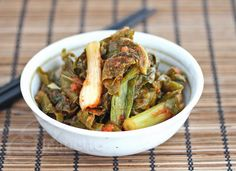 Kale Kimchi- two favourites combine? Paleo Recipes, Asian Recipes, Food Network Recipes, Food Processor Recipes, Massaged Kale Salad, Kimchi Recipe, Vegan Side Dishes, Fermented Foods, Fall Fest