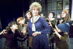 """The Brilliant Dorothy Loudon in her Tony winning performance as Miss Hannigan in the Original Broadway Production of """"Annie""""."""