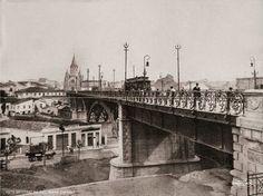 1910 São Paulo Viaduto Santa Ifigênia Autor: Guilherme Gaensly