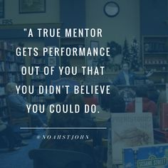 A True Mentor gets performance out of you that you didn't believe you could do. #entrepreneur #financialfreedom #timefreedom #freedom #impact #legacy #entrepreneurlife #mentor #success #leadership
