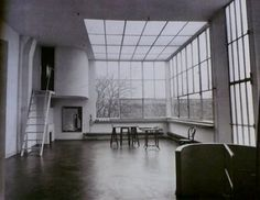 Le Corbusier amedee ozenfant house and studio interior
