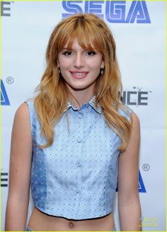 bella thorne sega event nyc 11