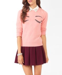 Mysterious Eyes Sweater   FOREVER21 - 2021841145