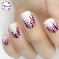Nailart Waterfall Nails