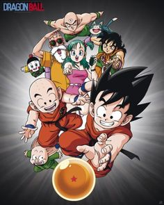 Dragon Ball poster Group http://www.abystyle-studio.com/en/dragon-ball-posters/330-dragon-ball-poster-group.html