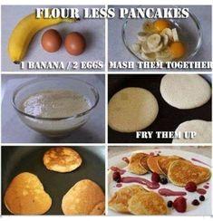 Flour- less Pancakes!