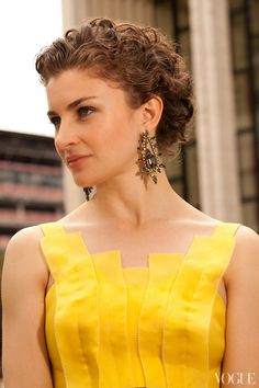 These earrings are by Elizabeth Cole, my mother always tells me that I'm too short to wear very long, dangly earrings, but I think these are a good length and the gray and lime green look so pretty together. I don't wear very much makeup during the day. For an event, I'll put on a little more, but it still stays pretty simple. I rarely wear a dark or bright lip color, mostly because I'm not very talented at applying lipstick, so it always looks all wobbly or ends up on my teeth.