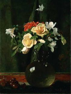 Vase of Flowers, George Cochran Lambdin