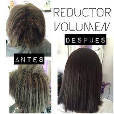 Espectacular resultado de nuestro reductor de volumen y alineamiento capilar con keratina y carbocisteina SIN formol. El resultado salta a la vista!Pregúntanos! #alisado #peluqueria #kerapro #cabello #cuidados #malaga #belleza