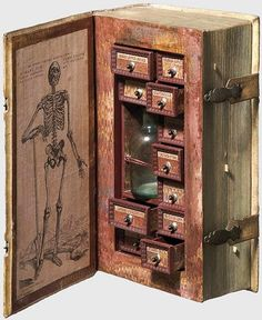 17th Century Secret Poison Case Disguised as a Book