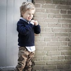*Vinrose trui `Gary` - donkerblauw - nieuw - maat 92 - VR07 | Maat 92 | Jongensmerkkleding.nl