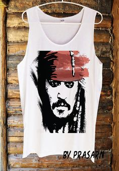 Hot Jack Sparrow Johnny Depp Pirate of the caribbean by PidayShop, $14.99