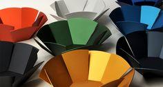 aluminum bowls 4 muffins ...designed by Melbourne-based Nina Ellis
