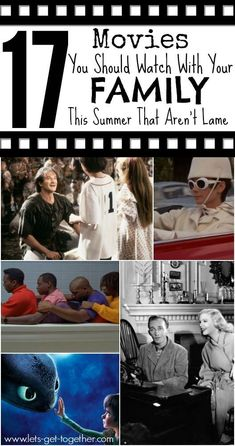 17 Movies You Should Watch With Your Family This Summer That Aren't Lame - Love this list! Great suggestions for family movie nights. #familymovies