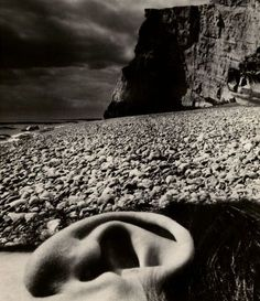 Bill Brandt,  Nude, Seaford, East Sussex Coast, 1957 on ArtStack #bill-brandt #art