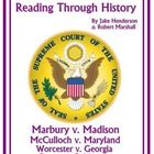 This is a four part unit covering important Supreme Court cases that deal with the major issues decided by the John Marshall court. Included in the...