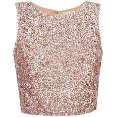 Lace Beads Picasso Nude Sequin Top (460 DKK) ❤ liked on Polyvore featuring tops, shirts, crop tops, blusas, lacy tops, sequined shirt, lace crop top, sequin crop tops and shirt top