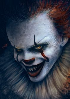"""johnny-dynamo: """"Pennywise by Eugene Gore """""""