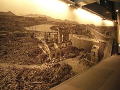 Hiroshima Peace Memorial, Memorial Museum, Display, Memories, Floor Space, Memoirs, Souvenirs, Billboard, Remember This