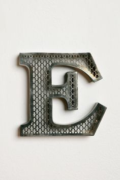 "letter E - approx: 6.5""w, 1""d, 6""h $10 ...hmm...do they have other letters"