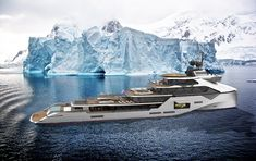 Wherever you wanna go. M/Y Atlantis - Ice Class Explorer Big Yachts, Super Yachts, Luxury Yachts, House Yacht, Yatch Boat, Cabo San Lucas, Explorer Yacht, Camper Boat, Float Your Boat