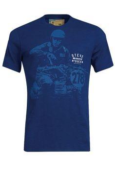 8002ce9128a0 Barbour International Steve Mcqueen Auto T-shirt Inky Blue