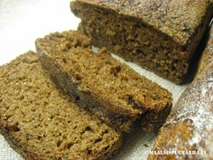 Home made rye bread without yeast