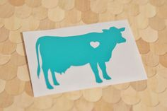Make the right moooooove and check out the stickers in our shop :)  Cow w/ Heart Car Laptop Vinyl Decal Sticker by InfinityStickers on Etsy https://www.etsy.com/listing/252658070/cow-w-heart-car-laptop-vinyl-decal