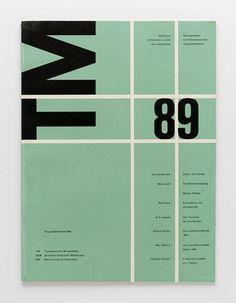 TM Typographische Monatsblätter, issue 8/9, 1953