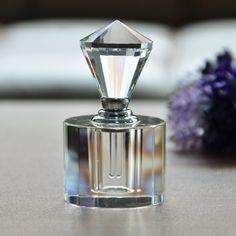 Amazon.com: YUFENG 5ml Empty Refillable Bottle Perfume bottles Decorative for Women with Clear Crystal Diamond: Home & Kitchen