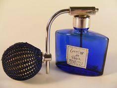 Art Deco Perfume Atomizer Evening In Paris COBALT