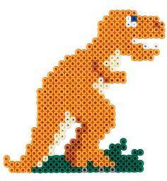 T-Rex Dinosaur Hama Beads
