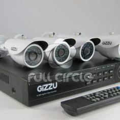4 Camera Home CCTV Security Kit