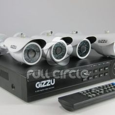 4 Camera Home CCTV Security Kit