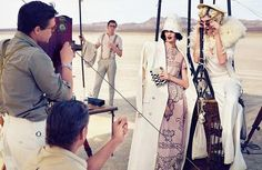 The Vogue Russia March 2012 Editorial Channels the Jazz Age #hollywood #hair trendhunter.com