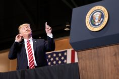 At Rally Trump Blames Media for Countrys Deepening Divisions